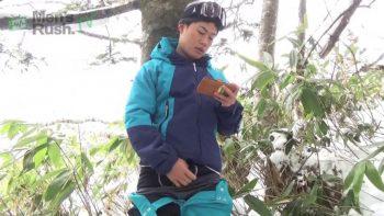 MR-ON1103 – YUKIYAと一緒に雪山へGO〜2!野外オナニー&立ちションシーン編!