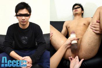 OCON009 – 男前ノンケひさし初撮りオナニー!