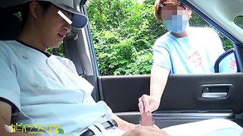 CAPY-635 – 野球ユニ野外露○CARSEX【真聡】車内でガン掘られ欲情快感!!