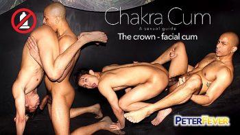 [PETERFEVER] CHAKRA CUM 2: THE CROWN FACIAL CUM