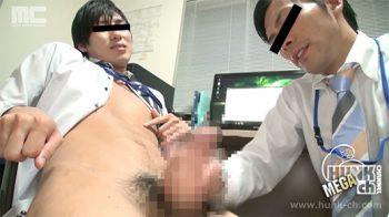 MENP-1041 – 新人研修 -身体で覚える仕事のルール-、イケメン寛貴と純平のオフィスラブ!二人だけのオフィスで身体を求め合う!