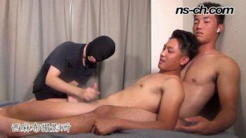 NS-895 – 初撮影男子ダブルス179cm81kg19歳・180cm81kg19歳